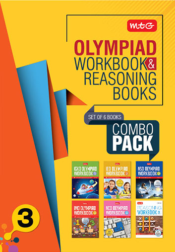 Class 3: Work book and Reasoning Book Combo for NSO-IMO-IEO