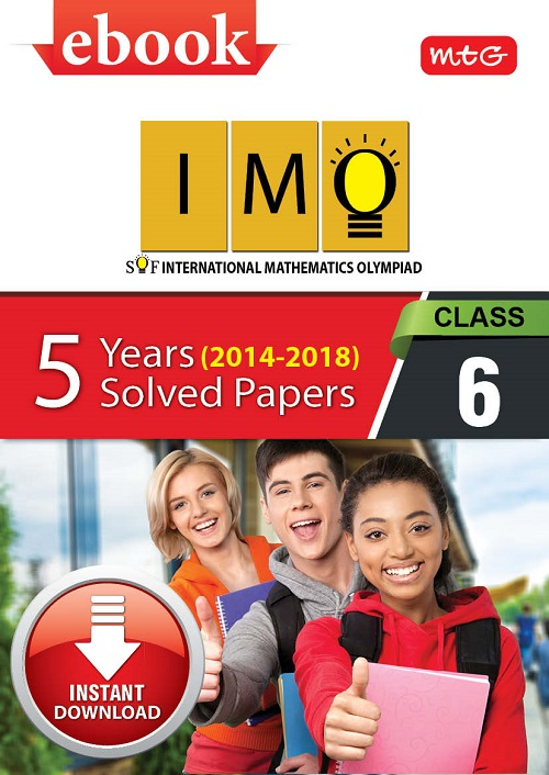 Class 6: IMO 5 years (Instant download eBook) | Science Olympiad