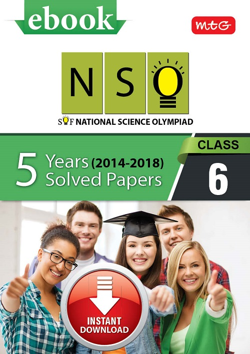 Class 6: NSO 5 years (Instant download eBook) | Science Olympiad