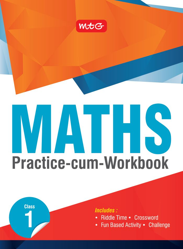 Class 1: Maths Practice cum Work Book | Science Olympiad Foundation