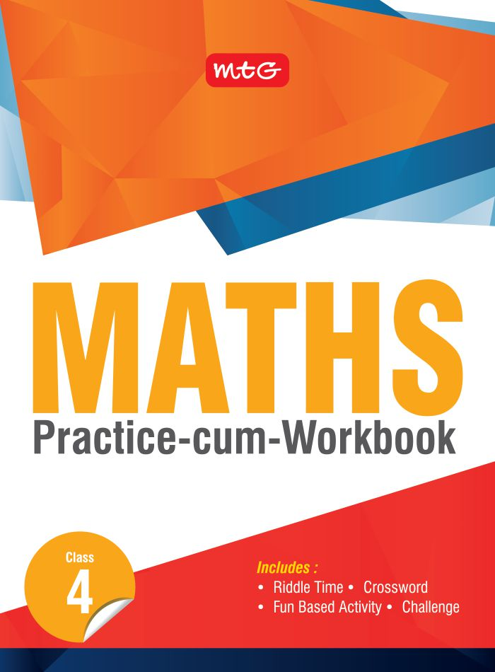 Class 4: Maths Practice cum Work Book | Science Olympiad Foundation